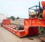 De afneembare Gooseneck Vrachtwagen van de Aanhangwagen van Lowboy Semi