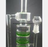 Низкая цена пушки воды трубы фильтра цвета клетчатая стеклянная