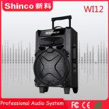 Shinco Ouitdoor Laufkatze des nachladbaren BerufsBluetooth Radioapparates 12 '' Lautsprecher