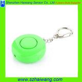 125dB en voz alta alarma de la señora Kids Anti-Violar Anti-Atacar Personal con Keychain