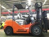 Грузоподъемник тележки 3.5tons Forklifter с Triplex рангоутом 5m