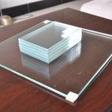 10мм Ultra Clear Low-Iron закаленного ламинированного стекла