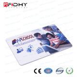 13.56MHz書き込み可能な受動態PVCアクセス制御のための二重頻度RFIDカード