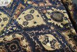 オーシャンブルーの大きいジャカード家具製造販売業のソファーファブリック(FTH31558)