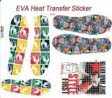 Impressões de transferência de calor para EVA chinelos adesivos de transferência