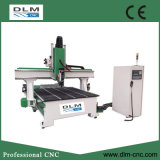 Maquinaria de Woodworking do CNC de 4 linhas centrais