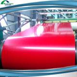 La couleur a enduit la bobine en acier dans la qualité