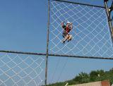 上昇ロープのネット、Knotlessまたは結ばれた網、スポーツのネット