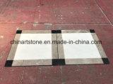 Mattonelle di marmo bianche come la neve della Cina Statuario per il pavimento dell'ingresso