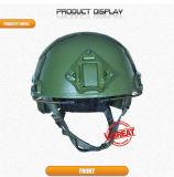 Casco rápido/casco a prueba de balas con color verde