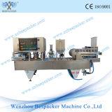 Cup-Wäsche-Flüssigkeit-Kaffeetasse-Kuchen-Füllmaschine