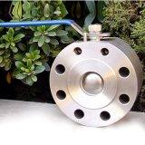 Tipo valvola a sfera di Short della cialda di CF8m industriale della maniglia