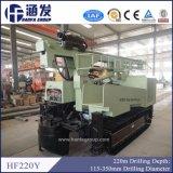 Piattaforma di produzione del pozzo di tubo di Hf220y con il compressore d'aria