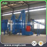 Venta de fábrica de madera para combustible de biomasa de la línea de producción de pellets de aserrín