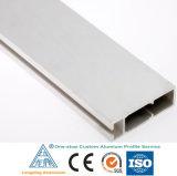 El aluminio saca perfil de la aleación para la decoración de aluminio de los muebles que bordea