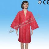 Nonwoven Desechable SPA Robe, SPA Albornoz para uso individual