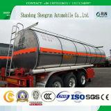 45000 litri 3 dell'asse di alluminio della lega di benzina del serbatoio dell'autocisterna di rimorchio di olio combustibile semi