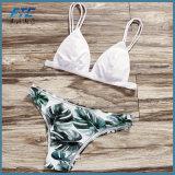OEM-женщин купальный костюм секси бразильского купальный костюм цветочные линии бикини