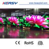 Farbenreiche bekanntmachende Bildschirmanzeige LED-P8 für im Freien