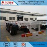 40FT/20FT de Semi Aanhangwagen van het Vervoer van de container met het Slot van de Draai 12PCS