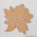 方法花はパッチのアクセサリの刺繍のラインストーンの鉄に玉を付ける