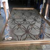 Laser fait sur commande coupant la partition d'acier inoxydable d'écran de diviseur de pièce d'acier inoxydable fabriquée en Chine
