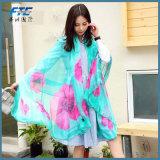 Silk Digital Druck-Schal-Silk Schal-Form-Seide China-100% in Chiffon-