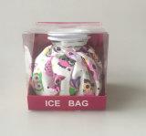 Sacchetto del dispositivo di raffreddamento del ghiaccio del tessuto di Resuable del contenitore di regalo per la terapia fredda calda
