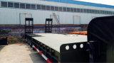 Tri-Axles Gooseneck 13m низкий кровати трейлер Semi