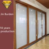 Настраиваемые порошковое покрытие алюминиевые раздвижные двери с двойными стеклами