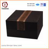 Custom Brown Boîte en carton de bijoux Emballage cadeau