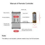 Control remoto de la luz de la Piscina Piscina de 12V LED
