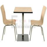 Vector y sillas de cena de los cuatro plazas de los muebles del restaurante del surtidor de China