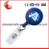 Trousseau de clés en plastique escamotable personnalisé de prix bas de modèle