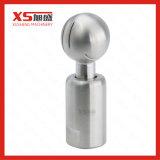 La soudure sanitaire en acier inoxydable se termine avec le ballon de pulvérisation rotatif du réservoir CIP