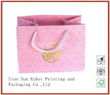 Factory Price Beautiful Paper Shopping Bag with Customzied Logo