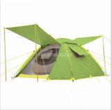 خيمة خارجيّ أخضر, 4 رجل خيمة, [دووبل لر] [كمب تنت]