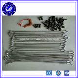 Aço inoxidável trançado de borracha de metal flexível com flanges