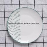 Usine de la conception de la vaisselle en porcelaine Jeu populaire