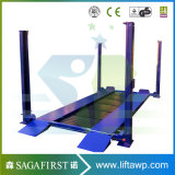 2 Post Vertical Elétrica Home 4 Post carro elevador hidráulico