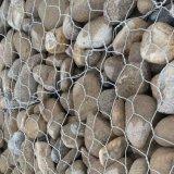 Sechseckige Maschendraht Gabion Kästen für Steinrahmen