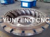 良質のタイヤ型のための中国の5軸線CNCパターンフライス盤
