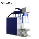 Handlaser-Markierungs-Maschinen-Gummireifen-Rohr-Markierung der Faser-30W
