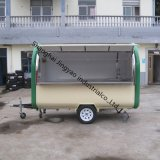 Stainless Steel Working Table Street Food Vending Cartの最も新しいVegetable Cart