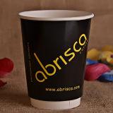 taza de café doble del papel de empapelar 10oz
