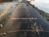 エクスポートのアフリカの製造業者の黒のGeotextileの沈積物の排水袋