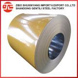 Revestido de color hoja PPGI Prepainted bobinas de acero galvanizado