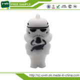 Star Wars de PVC de combate negro USB Flash Drive para regalos