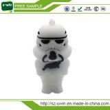 Mecanismo impulsor negro del flash del USB del PVC del combatiente de Star Wars para los regalos