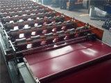 판매 중국을%s 고품질을%s 가진 기계를 형성하는 윤이 난 도와 색깔 강철 금속 루핑 장 롤